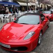 Ferrari supercars in the street of Estepona, Andalusia Spain - Stock Photo