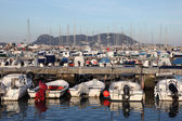 Marina in Algeciras. Province of Cadiz, Andalusia Spain — Stock Photo