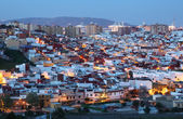 Algeciras at dusk. Cadiz Province, Andalusia Spain — Foto de Stock