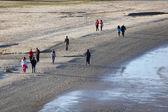 Walking on the beach in Algeciras, Spain — Stock Photo