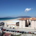 Atlantic ocean beach in Tarifa, Province of Cadiz, Andalusia Spain — Stock Photo