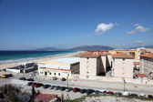 Atlantic ocean beach in Tarifa, Province of Cadiz, Andalusia Spain — 图库照片