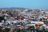 Algeciras at dusk. Cadiz Province, Andalusia Spain — Stock Photo