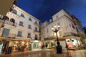 Square in the city of Marbella, Andalusia Spain — Stok fotoğraf