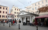 Convent Guard House in the city of Gibraltar — Stock Photo
