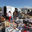 Flea market in San Luis de Sabinillas. Andalusia Spain — Stock Photo