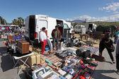 Flea market in San Luis de Sabinillas. Andalusia Spain — Stock Photo