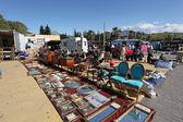 Loppmarknad i san luis de sabinillas, andalusien spanien — Stockfoto