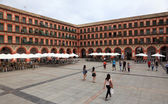 Plaza de la Corredera square in Cordoba, Andalusia Spain — Stock Photo