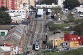 Train station in Algeciras, Andalusia Spain — Stock Photo
