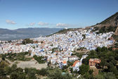 Blue white town Chefchaouen in Morocco — Stock Photo
