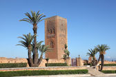 The Hassan Tower in Rabat, Morocco — Stock Photo