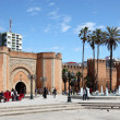 Bab el Had Square in Rabat, Morocco — Stock Photo