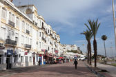 Promenade in Tangier, Morocco — Stock Photo