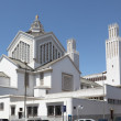 St Pierre cathedral at Place du Joulane square in Rabat, Morocco — Stock Photo