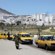 Stock Photo: Taxis at bus station in Tetouan, Morocco