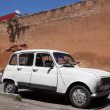 Royalty-Free Stock Photo: Old Renault R4 in the old town of Rabat, Morocco