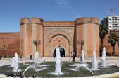 Fountain at Bab el Had square in Rabat, Morocco — Stock Photo