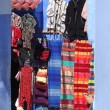 Stock Photo: Traditional moroccclothes for sale in medinof Chefchaouen, Morocco