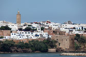 Old town of Rabat, Morocco — Stock Photo