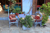 Traditional restaurant in Chefchaouen, Morocco — Stock Photo