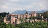 The Alcazaba of Malaga, Andalusia Spain — Stock Photo