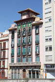 Building in the city of Malaga, Andalusia Spain — Stock Photo