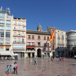 Square in the city of Malaga, Andalusia Spain — Stock Photo