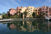 Marina in Sotogrande, Costa del Sol, Andalusia Spain — Stock Photo