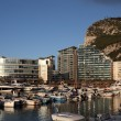 Ocean Village marina in Gibraltar — Stock Photo
