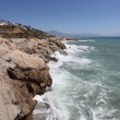 Punta Chullera coastline. Costa del Sol, Andalusia, Spain — Stock Photo #28003415