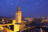 Medina in Fes at ngiht. Morocco, North Africa — Stock Photo