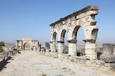 The Arch of Caracalla at Volubilis, Morocco, North Africa — Stock Photo