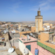 View over the roofs of the medina of Fes, Morocco — Stock Photo