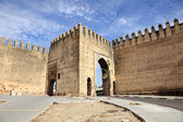 Gate to the medina in Fes, Morocco, North Africa — Stock Photo