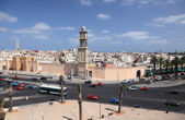 View of United Nations Square in Casablanca, Morocco — Stock Photo