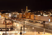 United Nation Square at night. Casablanca, Morocco — Stockfoto
