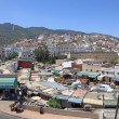 Stock Photo: View over Town Moulay Idriss, Morocco, North Africa