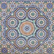 Stock Photo: Oriental mosaic in Morocco, North Africa