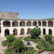 Stock Photo: Inner courtyard (Riad) in Meknes, Morocco, North Africa