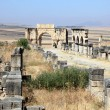 Stock Photo: Romruins in Volubilis, Morocco, North Africa