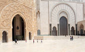 Hassan II Mosque in Casablanca, Morocco, North Africa — Stock Photo