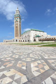 Mosque Hassan II in Casablanca, Morocco, North Africa — Stock Photo