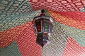 Traditional lamp in Meknes, Morocco, North Africa — Stock Photo