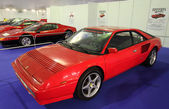 Ferrari Mondial 3.2 at the Ferrari Exhibition in Estepona. July 29, 2013, Andalusia Spain — Stock Photo