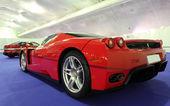 Ferrari enzo ferrari al salone ferrari a estepona. 29 luglio 2013, andalusia spagna — Foto Stock