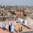 View over the rooftops of medina in Casablanca, Morocco — Stock Photo