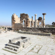 Stock Photo: Romtemple ruin in Volubilis, Morocco, North Africa