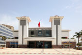 Tangier main train station (Gare Tanger Ville). Morocco, North Africa — Stock Photo