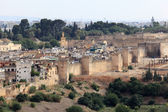 View over the old medina of Fes, Morocco, North Africa — Stock Photo